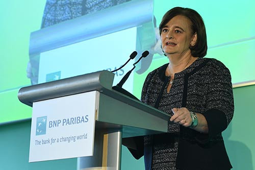 Cherie Blair campaigner for women's rights