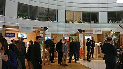 SDG innovation village showcased leading sustainability start-ups and organisations